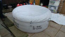 Lay z spa inflatable vegas hot tub