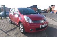 2007 (57) Nissan Note 1.4 16v Acenta 5dr, FULL SERVICE HISTORY, ONE OWNER FROM NEW, £1,795