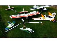 4 radio controlled planes bargain in lurgan.