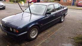 1992 Laser Blue BMW E34 525i Sport Manual