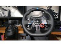 Logitech G29 Racing Wheel with Pedals & Shifter