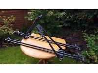 2 x Halfords Advanced Lockable Bike Racks