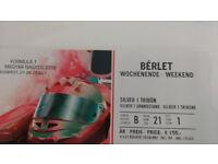 FI Tickets Hungary (Budapest) July 27-29