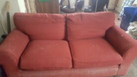 RED Free Sofa Bed
