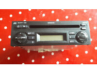 Nissan Note CD Radio Stereo Unit with Code - Part No 7645389318