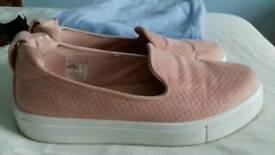 Size 2 slip on's from Topshop