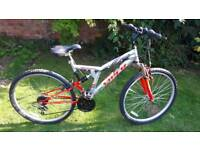 Viper duel suspension mountain bike one of many quality bicycles for sale