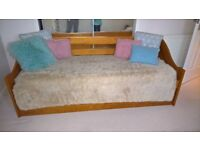 DOUBLE DAY BED In TEAK