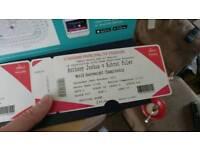 X2 Anthony Joshua tickets ** REDUCED **