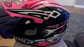 Kids motocross helmet brand new