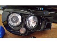 Subaru Bugeye Morette Headlights