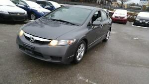 2009 Honda Civic LX Sport | Sunroof | Warranty| No Accidents