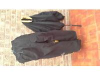 Waterproof Jacket and Trousers.