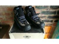 Salomon Contagrip walking boots size 12