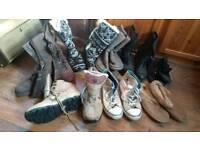 Ladies Shoes boots trainers Pumps size 5