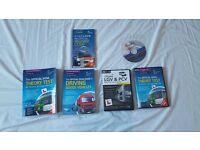 LGV theory test books nad DVD ,CPC module 2 CD
