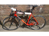 New 58cm Vitus Razor Road Bike 2017 + Narrow Mudguard Set