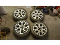 Fiat 500 sport alloy wheels