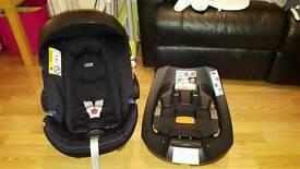 Mamas and papad Car seat and isofix