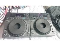 Two Gemini 203 professional CD Players