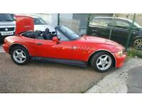97 BMW Z3 1.9 PETROL CABRIO COVERTIBLE GREAT FUN SWAP OR PART EX