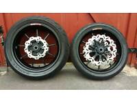 Oz braking forged wheels Honda fireblade sc57