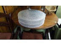 Vintage Crystal Diamante Cake Stand Display Pedestal Crystal Embellishment