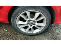 "Vxr 17"" alloy wheels"