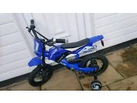 Boys scrambler bike
