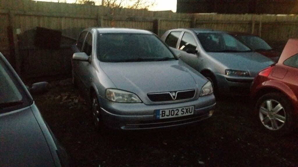 2002 VAUXHALL ASTRA 1.6 PETROL AUTOMATIC , , EXCELLENT RUNNER , , LOW MILEAGE , , CHEAP CAR