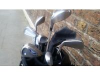 Quick sale - Golf set in excellent condition with stand bag