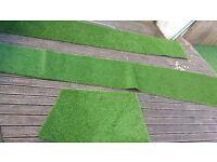 Artificial grass cut offs