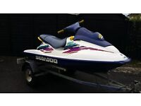 **** SEADOO GSX JET SKI FOR SALE**£1300** FANTASTIC CONDITION.