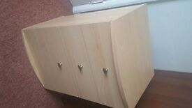 bedside cabinet 3 drawers