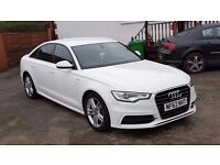 2012 AUDI A6-2.0 TDI/S-LINE -MULTITRONIC, 32900 GENUINE MILES, AUDI HISTORY,1 FORMER KEEPER