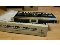 Behringer Ultragain Pro Mic2200 Tube Mic Pre