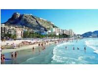 Holiday Rental Alicante Santa Pola Spain 3 min beach Pola Park Central location ideal for family