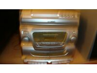 CD/ cassette/ radio player