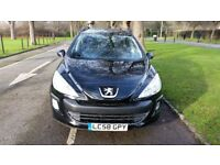 2009 Peugeot 308 SW 1.6 HDi FAP S 5dr Warranted Mileage Fully HPI Clear IF Keeper @07725982426@