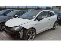 **For breaking** Seat Ibiza 1.2 petrol (2013).