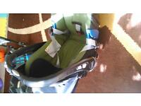 britax baby car seat and base