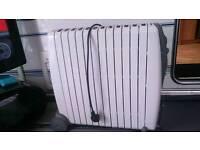 Large oil filled radiator