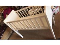 Mother care cot White