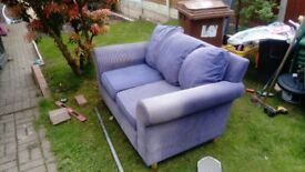 Settee, comfy, in good condition. £30