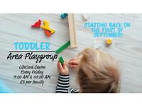 Toddler Play Group in Stockbridge!
