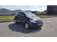 FORD KA / 10 PLATE / 2010 YEAR / 11 MONTHS M.O.T / BLACK / AIR CON / MANY EXTRAS / 07943533369 !!