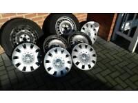 Vw transporter t5, steel wheels 4