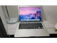 APPLE MACBOOK AIR INTEL CORE I5 1.3GHZ 4GB RAM 500GB FLASH WIFI WEBCAM OW X