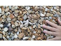 Garden patio stones pebbles decorative PICK UP only