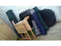 £60 Bargain - Camping Equipment - Gazebo, Chairs, Tables, BBQ, Stove and much more